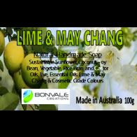 Lime and May Chang Natural Soap