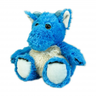Microwavable Heat Pack Cozy Plush Blue Dragon