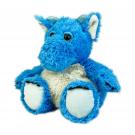 Warmies Microwavable Heat Pack Cozy Plush Blue Dragon