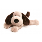 Warmies Microwavable Heat Pack Cozy Plush Brown Puppy