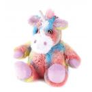 Warmies Microwavable Heat Pack Cozy Plush Rainbow Unicorn