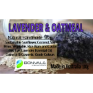 Lavender and Oatmeal natural Soap